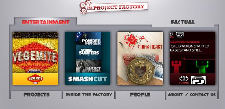 The Project Factory: Apps